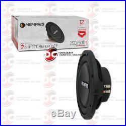 Brand New Memphis 12 Dual 4-ohm Car Audio DVC Shallow Mount Subwoofer