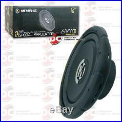 Brand New Memphis 12 Dual 4-ohm Car Audio DVC Subwoofer 500 Watts Max