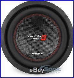 CERWIN-VEGA VPRO102D 1400W 10 Inch VEGA PRO SERIES Dual 2 Ohm Car Subwoofer Sub