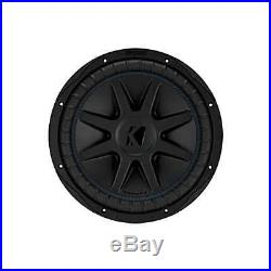 COMPVX 12-INCH (30cm) Subwoofer, Dual Voice Coil, 2-Ohm, 750W