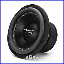 CT Sounds Car 12 Inch Subwoofer Strato 12 Dual 1 Ohm D1 Audio 1200w RMS Sub
