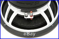 CT Sounds Car 12 Inch Subwoofer Strato 12 Dual 2 Ohm D2 Audio 1200w RMS Sub