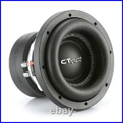 CT Sounds Car 8 Inch Subwoofer Strato 8 Dual 2 Ohm D2 600w Watt RMS Audio Sub