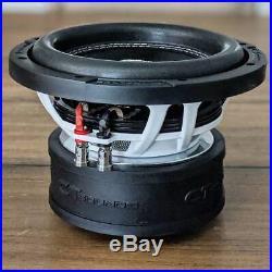 CT Sounds Car 8 Inch Subwoofer Strato 8 Dual 4 Ohm D4 450w Watt RMS Audio Sub