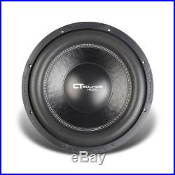 CT Sounds MESO 12 Inch D2 2000 Watt RMS 12 Dual 2 Ohm Car Audio Bass Subwoofer