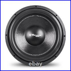 CT Sounds Meso 15 Inch Car Subwoofer 3000 Watts MAX Dual 4 Ohm Audio D4 Sub
