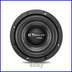 CT Sounds Meso 6.5 Inch Car Subwoofer 800 Watts MAX Dual 2 Ohm Audio D2 Sub