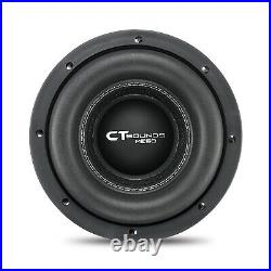 CT Sounds Meso 8 Inch Car Subwoofer 1600 Watts MAX Dual 4 Ohm Audio D4 Sub
