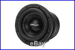 CT Sounds Meso 8 Inch Car Subwoofer 800w RMS Dual 2 Ohm
