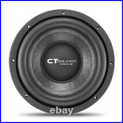 CT Sounds Ozone 12 Inch Car Subwoofer 1600 Watts MAX Dual 4 Ohm Audio D4 Sub