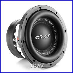 CT Sounds Strato 10 Dual 4 Ohm Car 10 Inch Subwoofer D4 1250w Watts RMS Audio