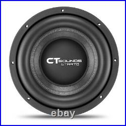 CT Sounds Strato 12 Dual 2 Ohm Car 12 Inch Subwoofer D2 1250w Watts RMS Audio
