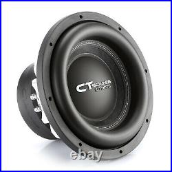CT Sounds Strato 12 Dual 4 Ohm Car 12 Inch Subwoofer D4 1250w Watts RMS Audio