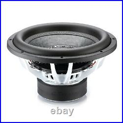 CT Sounds Strato 15 Dual 2 Ohm Car 15 Inch Subwoofer D2 1250w Watts RMS Audio