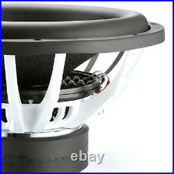 CT Sounds Strato 15 Dual 4 Ohm Car 15 Inch Subwoofer D4 1250w Watts RMS Audio