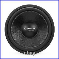 CT Sounds Strato 15 Inch 800w RMS Dual 1 Ohm D1 Car Audio Bass Sub Subwoofer