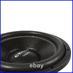 CT Sounds Tropo 12 Inch D2 600 Watt RMS 12 Dual 2 Ohm Car Subwoofer Audio Sub
