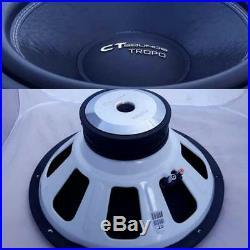 CT Sounds Tropo 18 Inch D4 600 Watt RMS 18 In Dual 4 Ohm Car Subwoofer Audio Sub