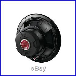 Car Audio Sub Woofer 1300 Watts 12 Inch Single 4-Ohm Extreme Bass Output Black