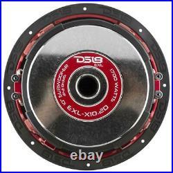 Car Audio Subwoofer 10 Inch 1700w Watt 2 Ohm DVC Dual Voice Coil DS18 EXL-X10.2