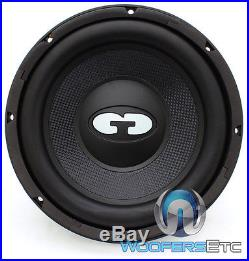 Cdt Audio Qex-1020 10 Svc 4 Ohm 500w Rms Clean Bass Subwoofer Car Speaker New