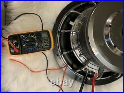 Custom Built 12 Inch Competition Subwoofer. 1800 Watts, Dual 4 Ohm Voice Coil