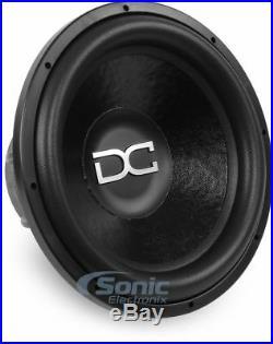 DC AUDIO 2800W 15 Inch Level 4 Series M2.1 Version Dual 1-Ohm Car Subwoofer/Sub