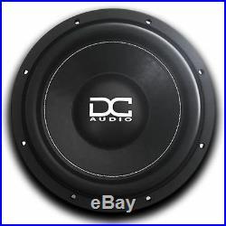 DC AUDIO 600W 12 Inch Level 1 Series M4 D4 Version Dual 4-Ohm Car Subwoofer/Sub