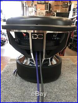 DC Audio Lv6 Elite 15 D1 15 9000w Dual 1-ohm Subwoofer Bass Speaker Woofer New