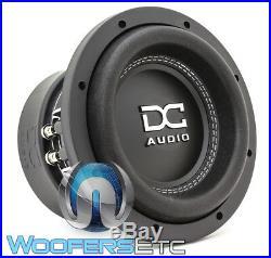 DC Audio M3-8 D4 Sub 8 1200w Dual 4-ohm Car Subwoofer Bass Speaker Woofer New