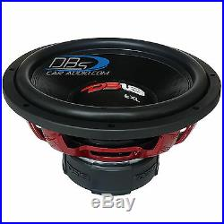 DS18 EXL-X15.2D 15 Car Subwoofer 2500W Max Dual 2 Ohm 15 inch Competition Sub