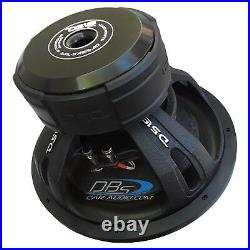 DS18 EXL-XXB15.2D 15 Car Subwoofer 4000W Max Dual 2 Ohm 15 inch Competition Sub