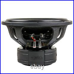 DS18 EXL-XXB15.2D 15 Inch Subwoofer 4000 Watts Max Dual 2 Ohm Competition