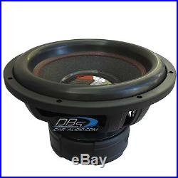 DS18 EXL-XXB15.4D 15 Car Subwoofer 4000W Max Dual 4 Ohm 15 inch Competition Sub