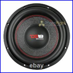 DS18 GEN-X104D 10 Inch Subwoofer 800 W Max Dual 4 Ohm Bass Sub Woofer Speaker