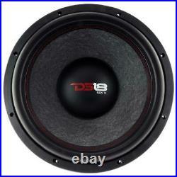 DS18 GEN-X154D 15 Car Subwoofer 1000W Max Dual 4 Ohm 15 inch Bass Sub Woofer