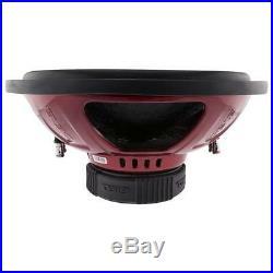 DS18 GEN X154D 15 Car Subwoofer 1000W Max Dual 4 Ohm 15 inch Bass Sub Woofer