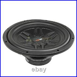 DS18 SLC-MD12.4D 12 Inch Subwoofers 1000 Watts Max Power Dual 4 Ohm Sub 4 Pack