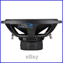 DS18 Z-BD154D 15 Subwoofer 1400W Max Dual 4 Ohm 15 inch Car Bass Speaker Sub