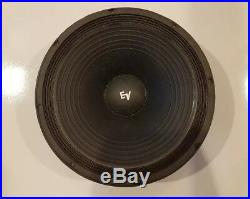 Electrovoice EV15-Inch Single 8 Ohm Replacement Subwoofer