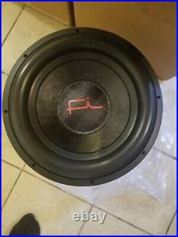 Fi Car Audio Q15 Neo Dual 1 Ohm Pair (2) D1 Subwoofers Red Logo 15 Inch