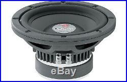 Focal Polyglass 21v2 8 500w Car Audio 4ohm Subwoofer Clean Bass Speaker