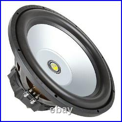 Gravity 15 Inch 1600 Watt Car Audio Subwoofer with 4 Ohm DVC Power (Single)