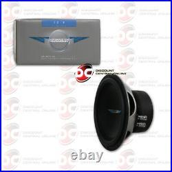 Image Dynamics Id8 D2 V4 8 2-ohm Dual Voice Coil Car Audio Subwoofer 150w Rms