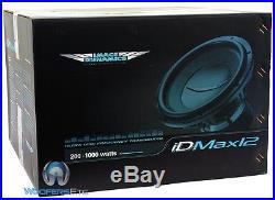 Image Dynamics Idmax12 V. 4 D4 Pro 12 Dual 4-ohm 1800w Max Subwoofer Speaker New