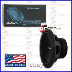 Image Dynamics Idq12 D2 V4 12 Dual 2 Ohm Car Dual Voice Coil Subwoofer 750w Rms