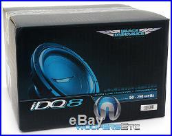 Image Dynamics Idq-8 D2 V. 4 8 500w Rms Dual 2-ohm Idq V. 4 Car Subwoofer Speaker