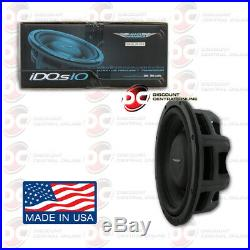 Image Dynamics Idqs10 D2 10 Dual 2 Ohm Car DVC Shallow Mount Subwoofer 200w Rms