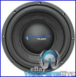 Incriminator Audio I10d4 10 Sub 500w Rms Dual 4-ohm Subwoofer Bass Speaker New