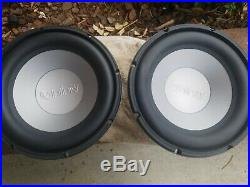Infinity kappa 100.3 DVC dual 4 ohm (PAIR) 10 inch subwoofer